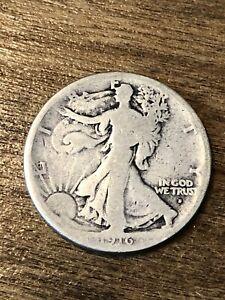 1916D Walking Liberty Half Dollar G+