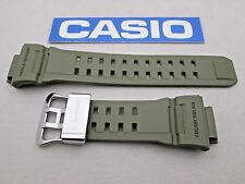 Genuine Casio G-Shock Rangeman GW-9400 GW-9400-3 resin rubber watch band green