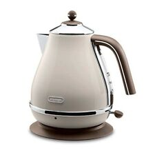 Delonghi Electric kettle 1.0L ICONA Vintage Collection Dolce Beige KBOV1200J-BG