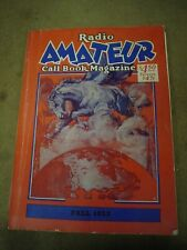 1957 Radios amatuer call book Fall 1957 used