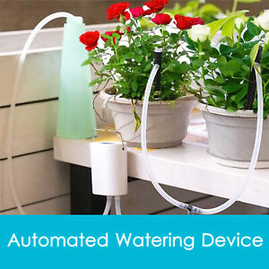 Automatic Drip Irrigation System Controller Garden Plant Self Watering kits