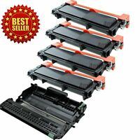 4 TN660 + 1 DR630 Toner Drum for Brother MFC-L2700DW MFC-L2740DW DR660 Printer