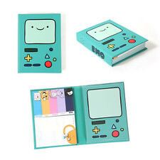 Cute Adventure Time Finn&Jake BMO Beemo - Sticky Notes Memo Pad Index Bookmark