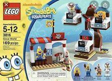 Lego SpongeBob SQUAREPANTS set 3816, Glove World, 100% complete.