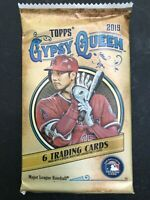 (1) Pack of 2019 Topps GYPSY QUEEN Baseball MLB Cards