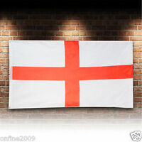 3x5 ENGLAND Flag Décor Cross Of St George English Banner Indoor Outdoor Fastness