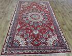 Handmade Persian Hamedan carpet, with superb colour 270 x 140 cm