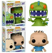 Funko POP! Nickelodeon Rugrats Bundle 225 + 227 Tommy + Reptar New Mint