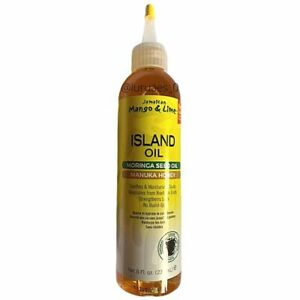 Jamaican Mango & Lime | Island Oil | Moringa Seed Oil & Manuka Honey (8oz) NEW