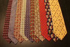 Lot of 10 NEW Van Heusen Designer Neck Ties with Patterns L043