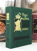 PRINCE AND PAUPER - Easton Press - MARK TWAIN - DELUXE LTD ED  RARE w/ open BOX