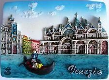 Fridge magnet Venice Gondolier,italian gift/souvenir 3D design / Day