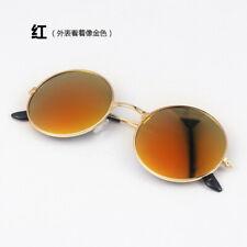 Retro Men Women Fashion Round Mirrored Sunglasses Eyewear Outdoor Sports Glasses