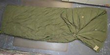 Used Canadian military 1 piece Cold weather outer arctic sleeping bag ( #O-6 )