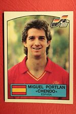Panini EURO 88 N. 135 ESPANA CHENDO WITH BACK VERY GOOD / MINT CONDITION!!!