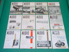 1965 Audio Magazines, Complete Year, 12 Issues