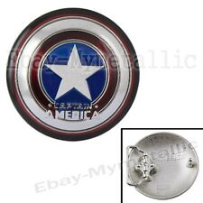 Cool Super Hero Captain America Shield Removable Metal Belt Buckle