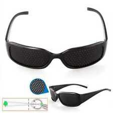 Gafas Reticulares Agujeros Pinhole Estenopeicas Rejilla Miopia Astigmatis Negra