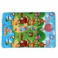 Tappetino da gioco per bambini 180x120x0.5cm Tappeto strisciante Tappeto pe L2I9