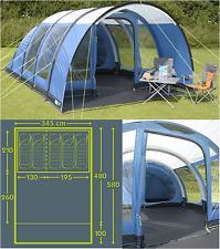Kampa Paloma 5 AIR berth person man camping inflatable tent CT3052 - 2018