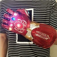 Thanos Infinity Gauntlet LED Light Red Gloves Marvel Avengers Infinity War