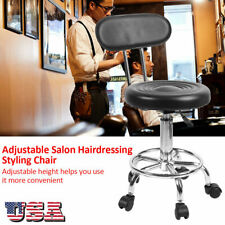 1Pcs Adjustable Rolling Hairdressing Styling Massage Chair Salon & Spa Supplies