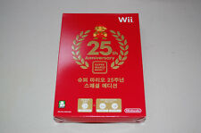 Super Mario 25th Anniversary Collection Special Wii KOREAN SEALED