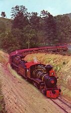 TWEETSIE RAILROAD COMING THROUGH THE FIRST PASS, BLOWING ROCK, NORTH CAROLINA
