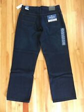 IZOD Mens Size 34x30 IW Ink Wash RELAXED Fit Straight Leg Jeans NWT