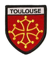 Patche Toulouse ville thermocollant écusson brodé transfert patch badge fanion