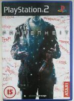 FAHRENHEIT - PS2 Sony PlayStation 2 PAL UK (SLES 53540)