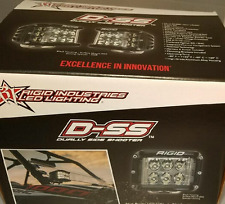 Rigid Industries D-SS Side Shooter LED Driving Light Pair 26231