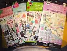 LOT of 4 Create 365 Happy Planner HAPPY MEMORY KEEPER  STICKER BOOKS