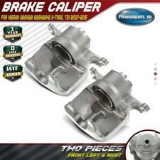 2x Brake Calipers Front Side for Nissan Qashqai Qashqai+2 X-Trail T31 2007-2015