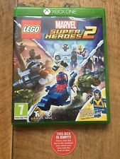 Lego Marvel Super Heroes 2 EMPTY CASE Xbox One Replacement case Box No Game