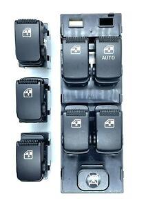 HYUNDAI GETZ 5 DOOR POWER WINDOW MASTER SWITCH & 3 SINGLE SWITCHES RHD 2002-2011