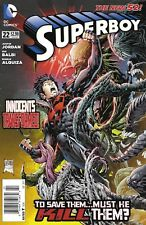 Superboy Comic Issue 22 The New 52 Modern Age First Print 2013 Jordan Balbi DC