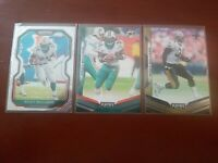 Ricky Williams Miami Dolphins New Orleans Saints 3-card Lot