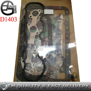 D1403 Gasket Kit For Kubota Engine L2500 L2500DT L2500F L2600 L2600F Tractor