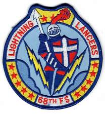 OLD USAF patch - 68th Fighter Squadron  - 347th FW - Moody AFB  F-16