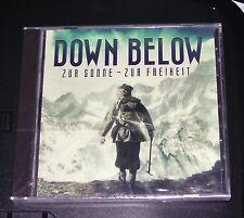 DOWN BELOW ZUR SONNE ZUR FREIHEIT CD SCHNELLER VERSAND NEU & OVP