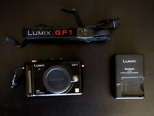Panasonic LUMIX DMC-GF1 12.1MP Digital Camera - Black (Body Only)