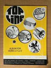 More details for top line album for horn in eflat & piano grades easy/medium pub. brass wind