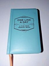 CHRONICLE BOOKS BLUE ONE LINE A DAY FIVE YEAR MEMORY JOURNAL