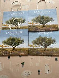 Loccitane Gift Bags x4