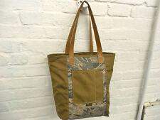 Weekender Tote - by Union Bag Co., USA Made, Heavy Duty Cordura, Tan+TigerStripe