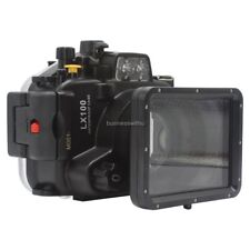 40m 130ft Underwater Diving Waterproof Case Cover for Panasonic Lumix LX100