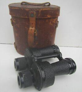 Vintage ROSS London No.6 MKI x4 Military Army Binoculars - dated 1936