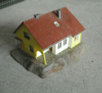 Vintage Faller HO Scale Two Story House Building