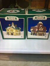 Vintage Villages Christmas Valley Set Of Two /. Please See My Description
